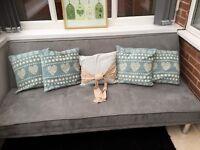 Lovely grey clic clac sofa bed