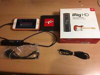 IRig HD Guitar interface