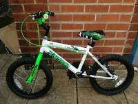 rapper junior bike like new 16 inch tyre used twice very good condition