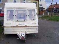 bailey pageant 2 berth +awning +extras