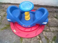 Little Tikes Whirly Roundabout - Roundhay Park Leeds 8 - Can Deliver
