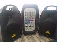 Behringer Europort 900 sound system
