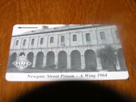 Vintage Phonecard Newgate Street Prison A Wing Weymouth