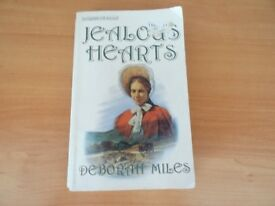 JEALOUS HEARTS - DEBORAH MILES - PAPERBACK BOOK