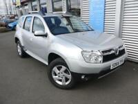 DACIA DUSTER 1.5 LAUREATE DCI 5d 107 BHP **1 YEAR MOT + AA RECOVERY** (silver) 2014