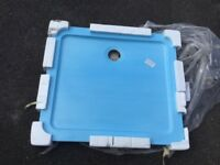 Shower tray white MX Group Elements flat top SNY code 5017706644259 size 900x800mm buyer collects