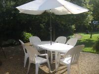 Beautiful garden furniture for sale.