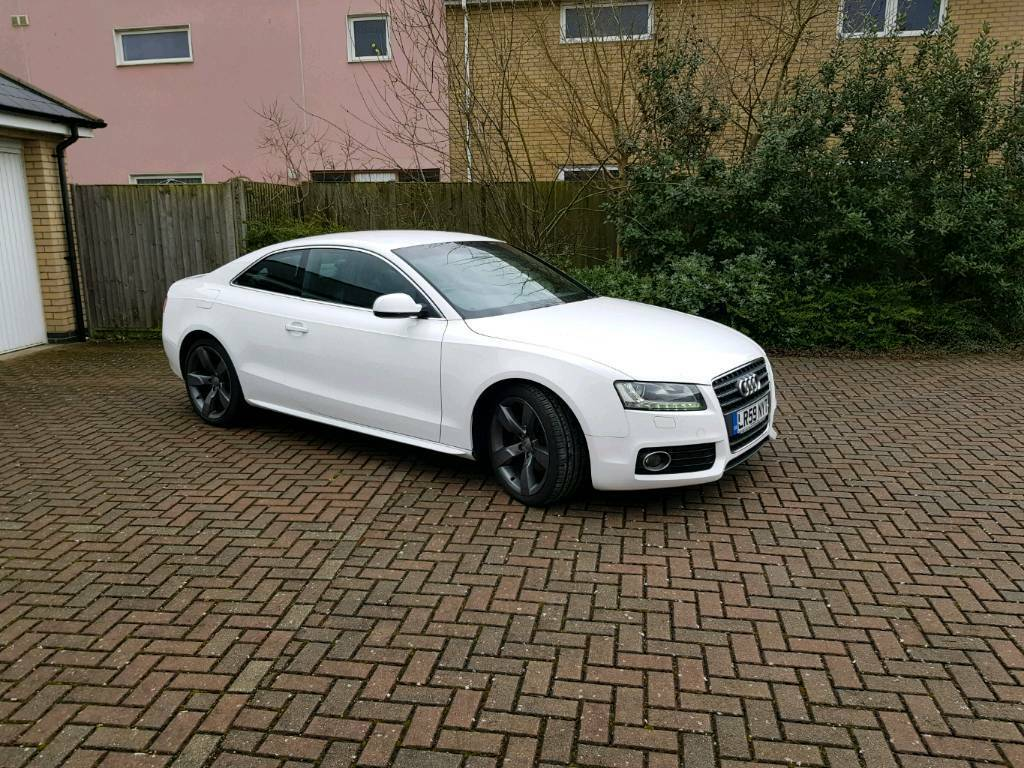 Audi A S Line White In Ipswich Suffolk Gumtree - White audi a5