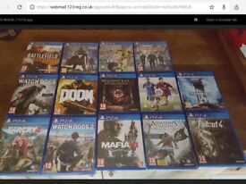 Used PS4 games good condition