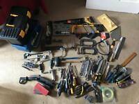 Massive job lot of hand tools. DIY. Carpentry. Woodworking. Gardening. Car maintenance.