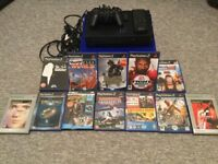 PlayStation 2 with 12 games.