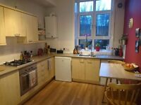 Furnished double room in quiet west end flat - £525 incl bills