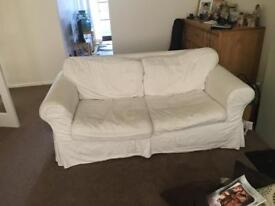 FREE to collector 2 x 2 seater Ikea sofas