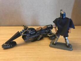 *RARE* Star Wars Vintage Collection Jango Fett Figure & Cade Banes Speeder