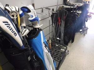 GOLF SEASON is here!! Come to BUSTERS for all your golf needs! We sell used goods.