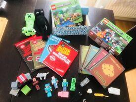 Minecraft bundle toys books lego