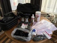 Spray tanning kit