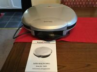 Russell Hobbs Satin Health Grill, used once,