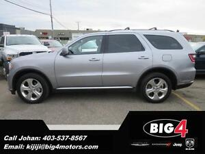2015 Dodge Durango Limited, 2x DVD, Leather, Sunroof PRICE DROP!