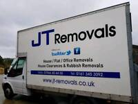 JT REMOVALS- MAN AND VAN- £40 PER HOUR! FULLY INSURED 2 MAN SERVICE! , careful and reliable!
