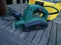 BOSCH ELECTRIC PLANER (only moderate amateur use)