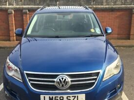 Volkswagen Tiguan 2.0 TDI Escape 4MOTION 5dr Full service history, S/Roof