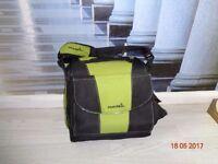 Munchkin booster seat/high chair/travel bag