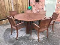 PATIO DINING TABLE & CHAIRS
