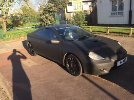 Quick Sale Matte Black Toyota Celica £1500 ONO
