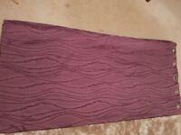 FINAL REDUCTION Beautiful Plum/Purple Curtains