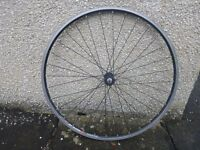 """Various 26"""" and 700c bike wheels – some Shimano hubs - and wheelset"""