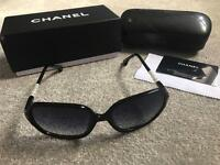 Black Chanel sunglasses ladies, last few left