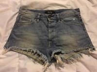 "Distressed Shorts, Size 8 (26"" Waist), 55DSL"