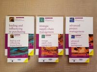 3 Set of Official CIPS Level 6 Textbooks - Excellent Condition