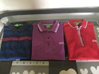 Hugo boss polo shirts x 3