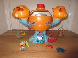 Octopod playset plus all 4 on-the-go pods