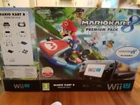 Wii u Mario Kart 8 premium console and additional games