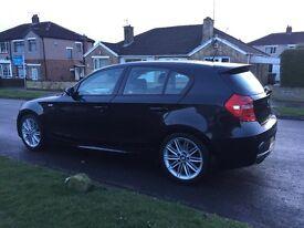 BMW 1 SERIES 120d M Sport Black