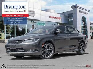2015 Chrysler 200 S |TRADE-IN | BACKUP CAM | BLUETOOTH |