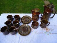 vintage Sylvac tea set