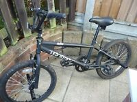 2 BMX Bikes Hardly used in good condition