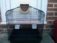 Small bird cage, good condition, £10