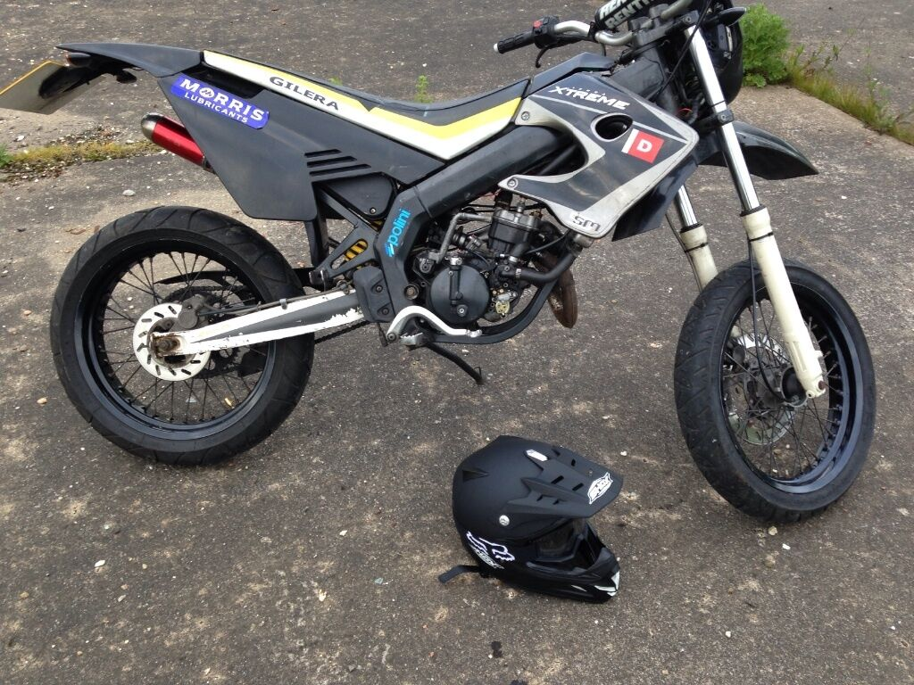 gilera smt 50cc geared supermoto in pocklington north yorkshire gumtree. Black Bedroom Furniture Sets. Home Design Ideas
