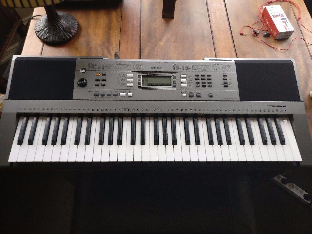 sold yamaha keyboard psr e353 2 months old like new. Black Bedroom Furniture Sets. Home Design Ideas