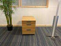 8 Pedestal/under desk drawer/storage unit combo lock Ikea Galant 3 drawer pedestal £80 each
