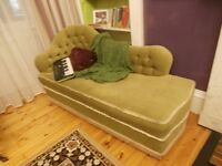 Chaise Lounge and Matching Corner Chair