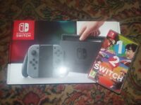 Brand New Nintendo Switch console bundle with game
