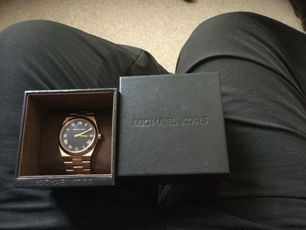 New boxed genuine rose gold Micheal watches bargain £125