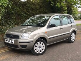 2003 FORD FUSION, 1.4 ENGINE, 5 DOORS, LONG MOT & FULL SERVICE HISTORY