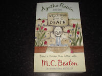 Agatha Raisin and the Wellspring of Death - M.C.Beaton - used paperback book, post or collection